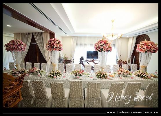 Dịch vụ trang trí đám cưới công ty dịch vụ đám cưới Honeybees