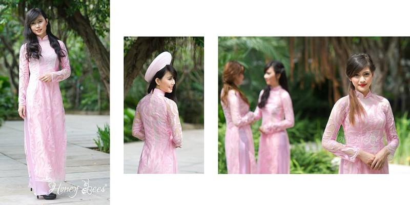 Cho thuê đồng phục áo dài bưng quả cho dâu phụ, rễ phụ